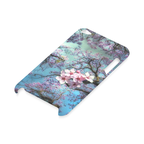 Cherry blossomL Hard Case for iPod Touch 4