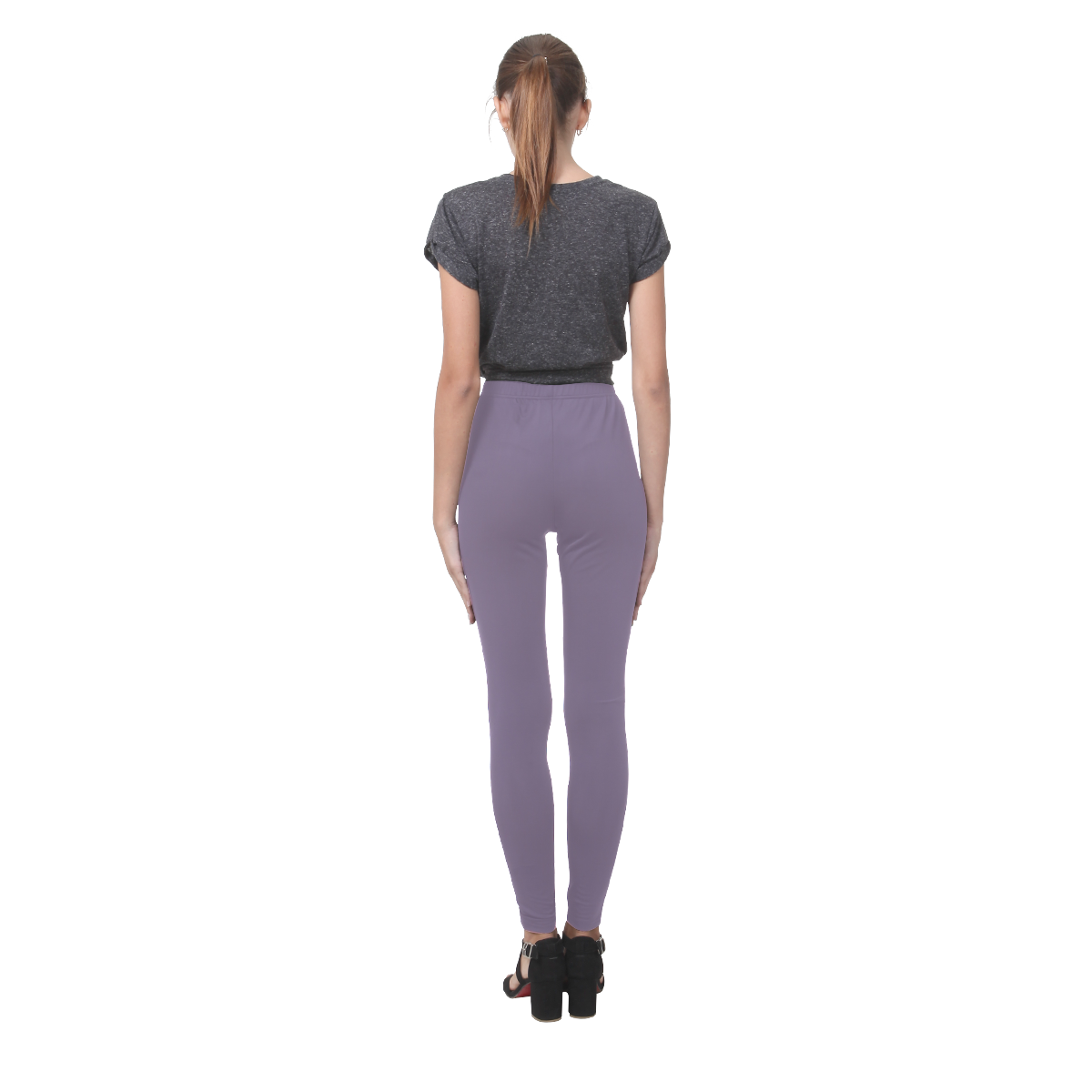 Grape Compote Cassandra Women's Leggings (Model L01)
