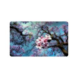 """Cherry blossomL Doormat 30""""x18"""""""