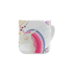 Unicorn Dream Heart-shaped Mug(10.3OZ)