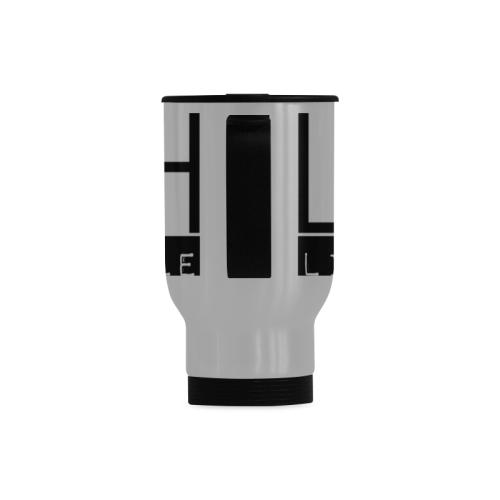 LOAH Thirster Travel Mug (Silver) (14 Oz)