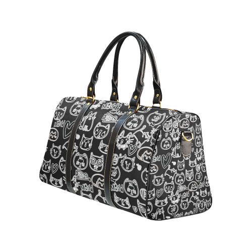 Meow Cats New Waterproof Travel Bag/Large (Model 1639)