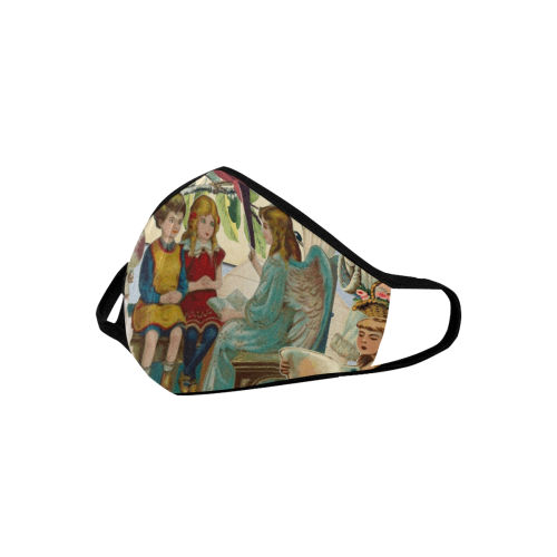 angel collage Mouth Mask