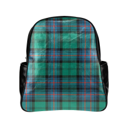 Armstrong Ancient Tartan Multi-Pockets Backpack (Model 1636)