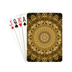 "mandala paon 25 Playing Cards 2.5""x3.5"""