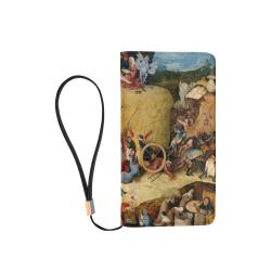 Hieronymus Bosch-The Haywain Triptych 2 Men's Clutch Purse (Model 1638)