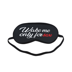 sl1-wake me up only for sex Sleeping Mask