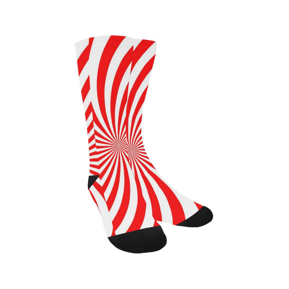 PEPPERMINT TUESDAY SWIRL Trouser Socks
