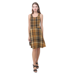 TARTAN DESIGN Atalanta Casual Sundress(Model D04)