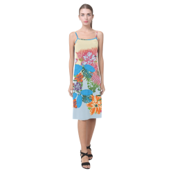 Boho Tropic Bash Alcestis Slip Dress (Model D05)
