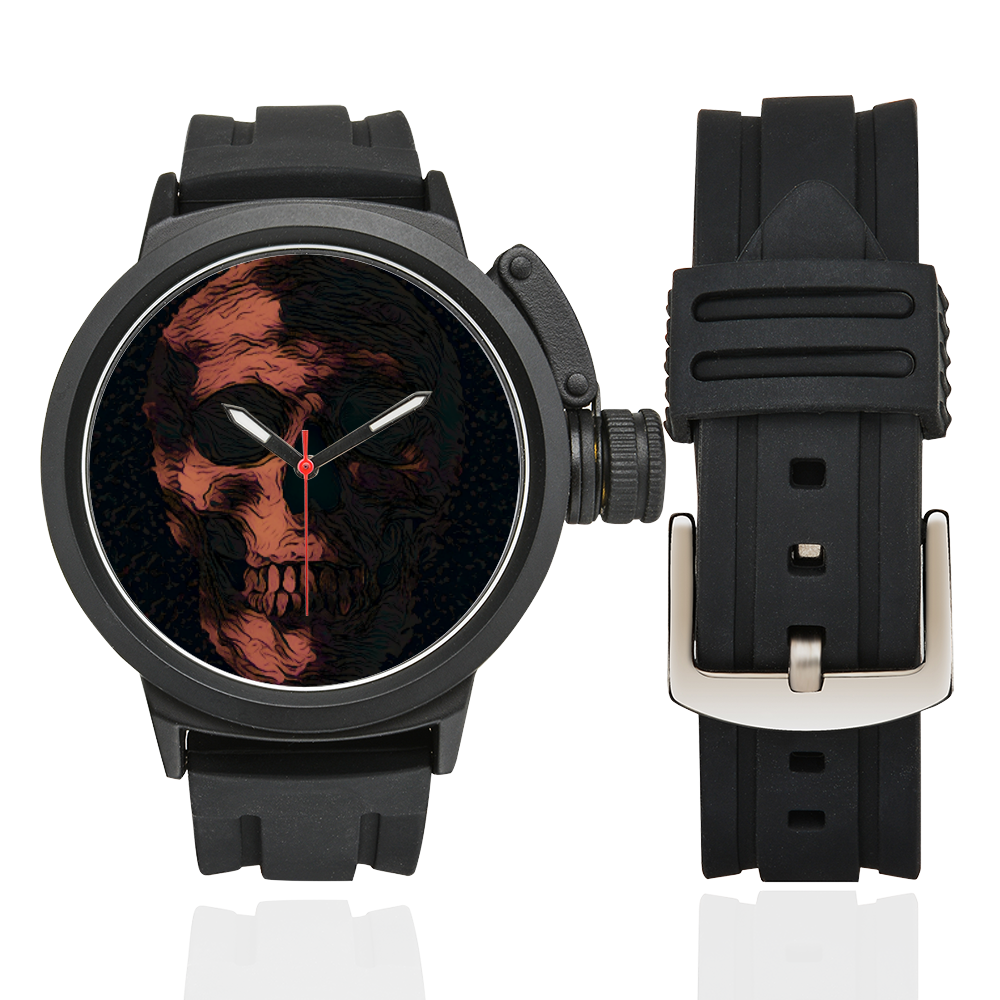 ART SKULL WATCH Men's Sports Watch(Model 309)