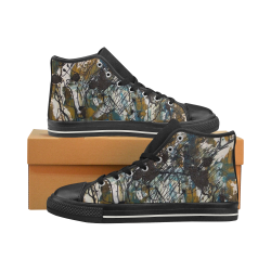Dreams Women's Classic High Top Canvas Shoes (Model 017)