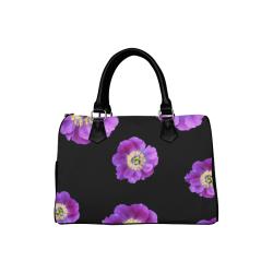 Fairlings Delight's Floral Luxury Collection- Purple Beauty 53086a7 Boston Handbag (Model 1621)