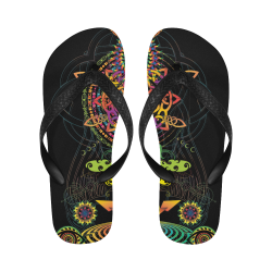 Flip-flop beach maya color-01 Flip Flops for Men/Women (Model 040)
