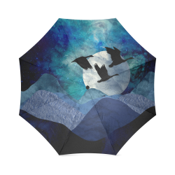 Night In The Mountains Foldable Umbrella (Model U01)