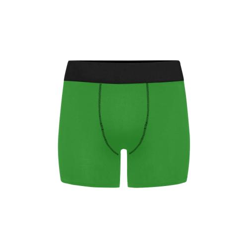 color forest green Men's All Over Print Boxer Briefs (Model L34)