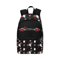 Hearts batwings backpack Fabric Backpack for Adult (Model 1659)
