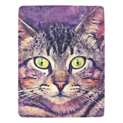 cat Ultra-Soft Micro Fleece Blanket 54''x70''