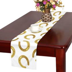 Golden horseshoe Table Runner 16x72 inch