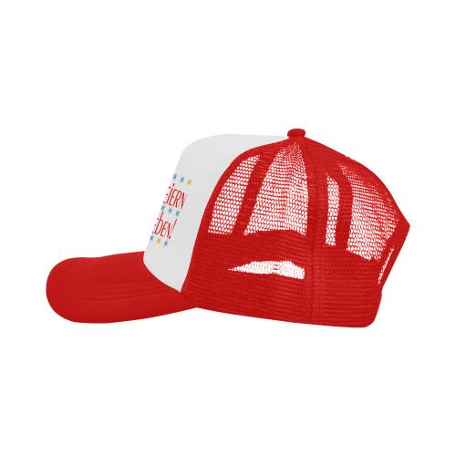 WIR FEIERN DAS LEBEN - ROT Trucker Hat