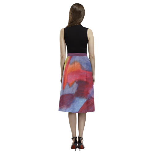 Colour Harmony Aoede Crepe Skirt (Model D16)