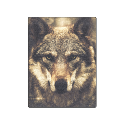 "Wolf 2 Animal Nature Blanket 50""x60"""