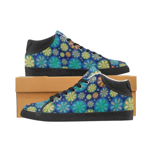 zappwaits delightful 3 Women's Chukka Canvas Shoes (Model 003)