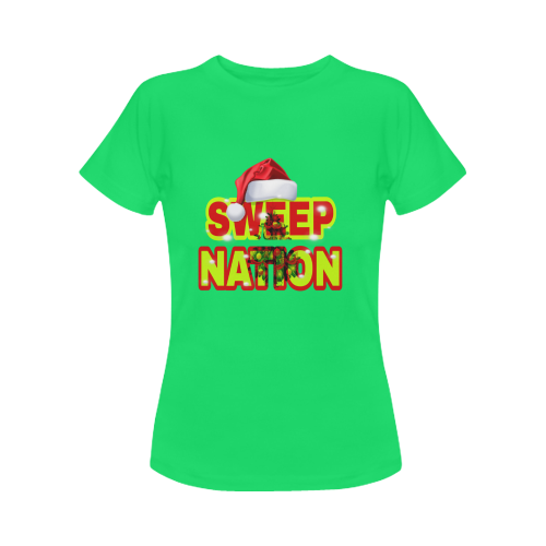 Sweep Nation - Christmas Women's Classic T-Shirt (Model T17)