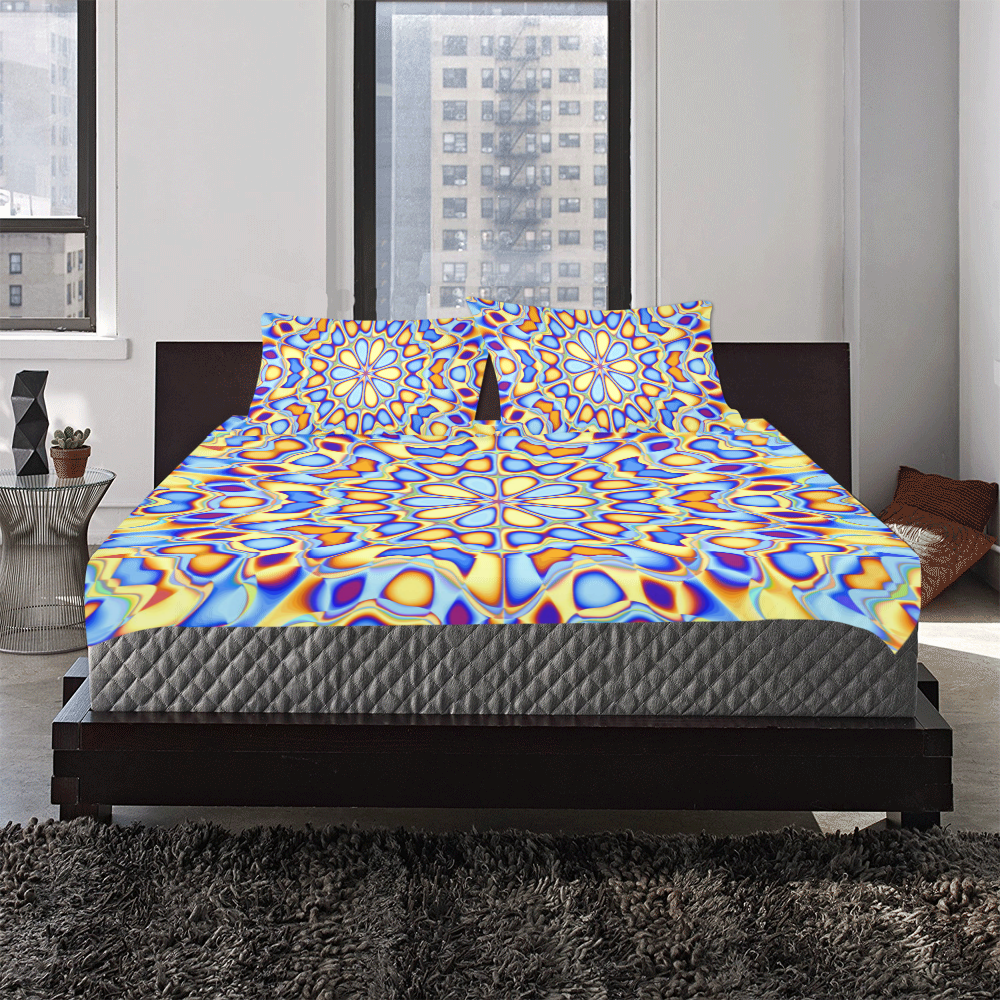 Blast-o-Blob #3 3-Piece Bedding Set