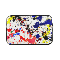 Blue & Red Paint Splatter Macbook Pro 17''