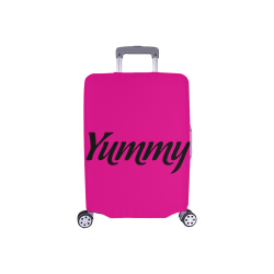 "Yummy Luggage Cover/Small 18""-21"""