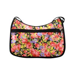Colorful Flower Pattern 02 Crossbody Bags (Model 1616)
