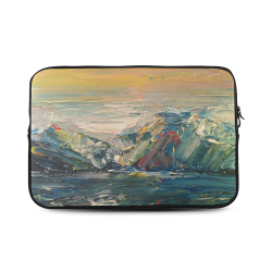 """Mountains painting Custom Sleeve for Laptop 17"""""""