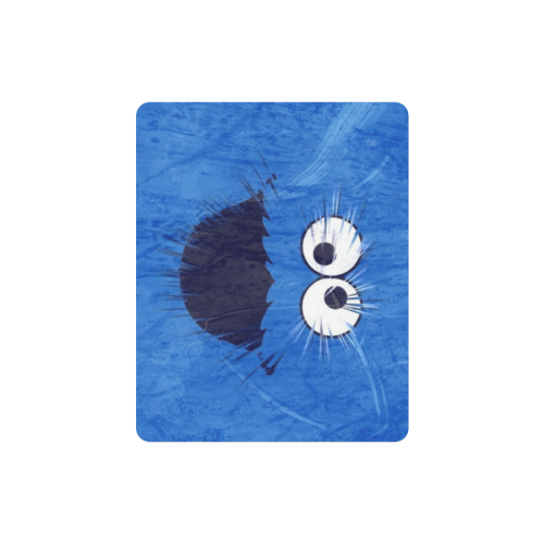 Blue by Artdream Rectangle Mousepad