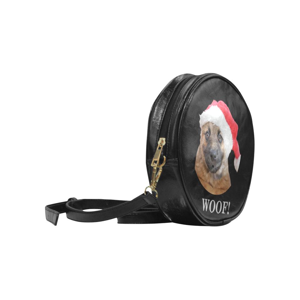WOOF! Round Sling Bag (Model 1647)
