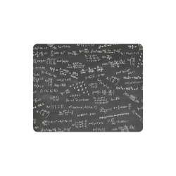 Mathematics Formulas Equations Numbers Rectangle Mousepad