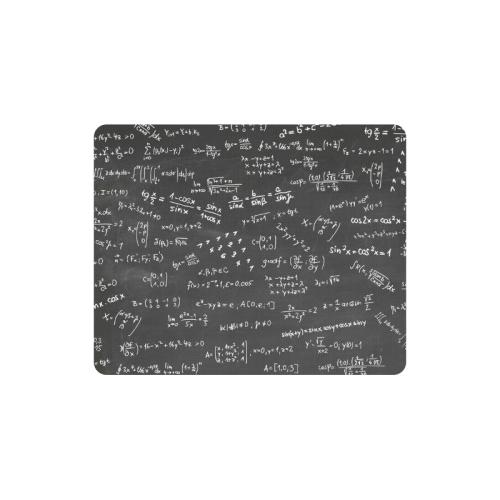Mathematics Formulas Equations Numbers Rectangle Mousepad