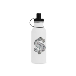 Hundred Dollar Bills - Money Sign Manchester Sports Bottle(22OZ)