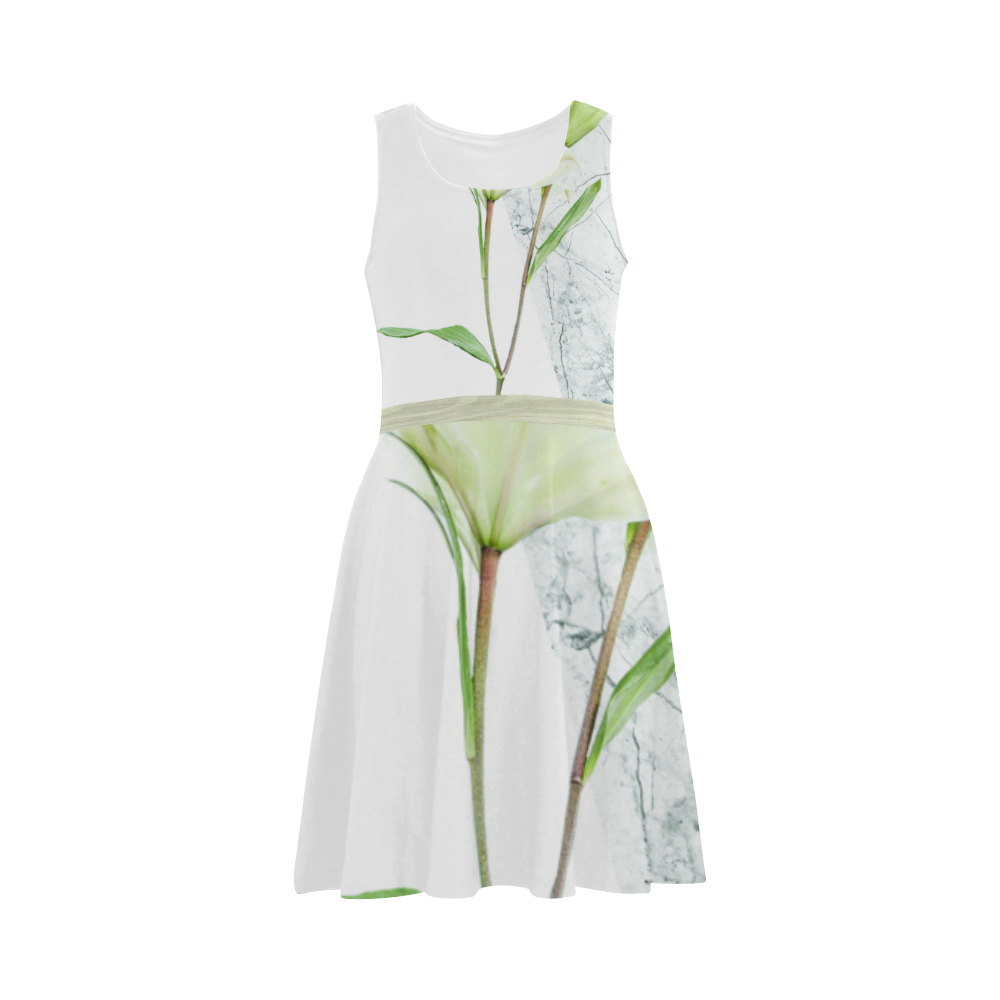 Flower Concrete Wood Atalanta Sundress (Model D04)