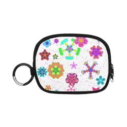 Abstract #5 Coin Purse (Model 1605)