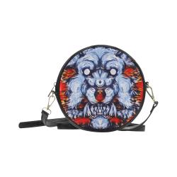 Awesome Alpha Werewolf Round Sling Bag (Model 1647)