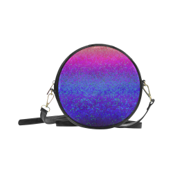 Glitter Star Dust G248 Round Sling Bag (Model 1647)