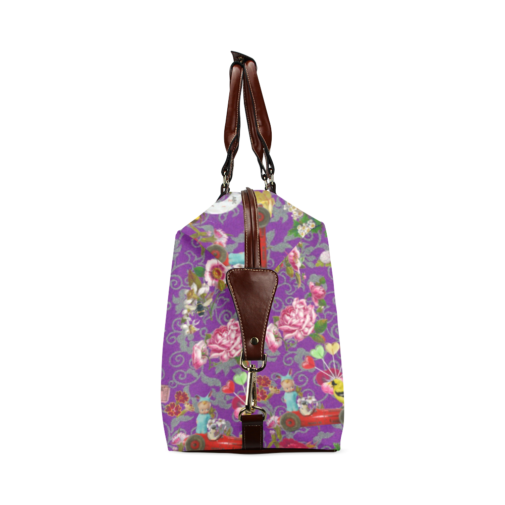 Spring Bank Holiday Classic Travel Bag (Model 1643) Remake