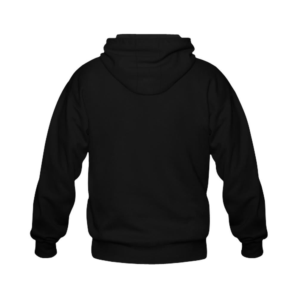 bb 202115 Gildan Full Zip Hooded Sweatshirt (Model H02)
