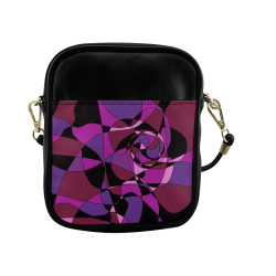 Abstract Design #6 Sling Bag (Model 1627)
