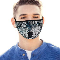WOLF ICE MASK Mouth Mask