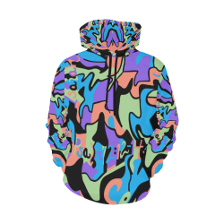 Seen_Hoodie_Women All Over Print Hoodie for Women (USA Size) (Model H13)