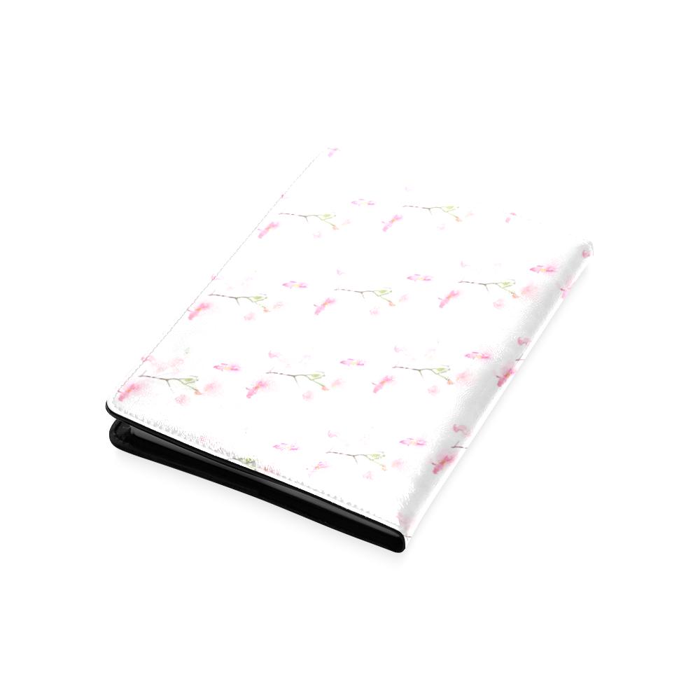 Pattern Orchidées Custom NoteBook A5