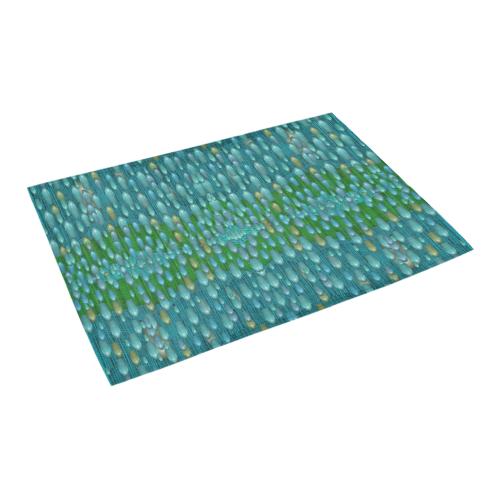 "starfall and rain Azalea Doormat 24"" x 16"" (Sponge Material)"
