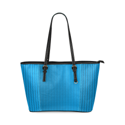 PLASTIC Leather Tote Bag/Small (Model 1640)